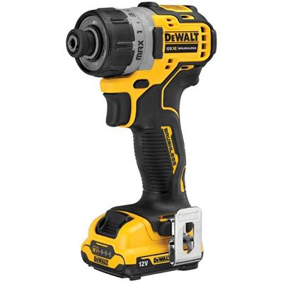 Dewalt DCF601D2 12 Volt XR Brushless Sub-Compact Screwdriver ʂ x 2.0Ah Batteries)