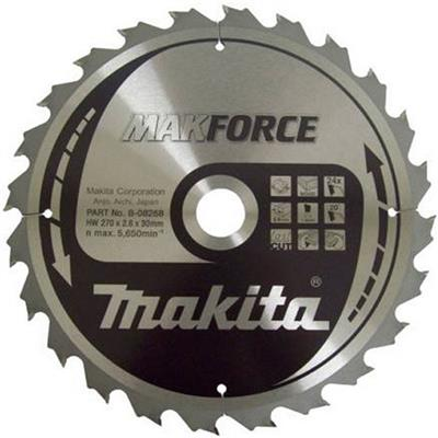 Makita B-08268 270mm x 30mm x 24 Tooth Circular Saw Blade
