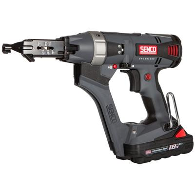 Senco DS525-18V UK High Speed 55mm 18 Volt Cordless Screwdriver ʂ x 3.0Ah Batteries)