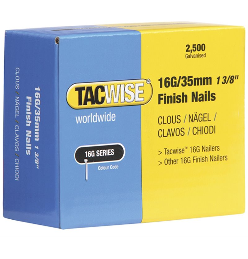 Tacwise 0293 Clavos 16 g//30 mm,