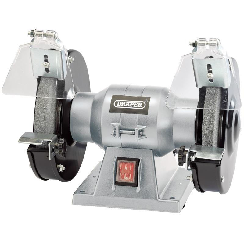 Draper 83420 Ld150 150mm 150w 230v Bench Grinder Miles