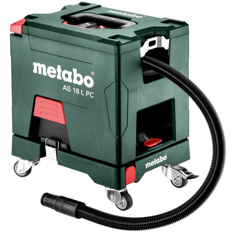 Metabo As 18 L Pc Set 18 Volt Li Ion Cordless Vacuum