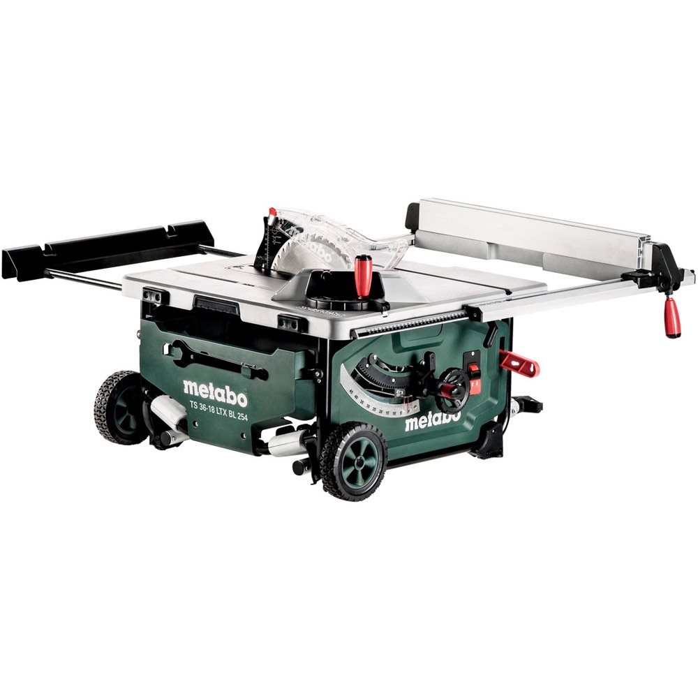 Metabo Ts 36 18 Ltx Bl 254 Cordless Table Saw Body Only