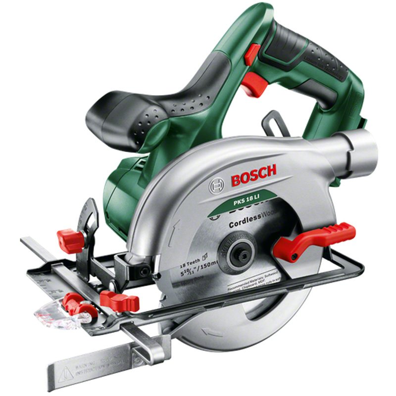 bosch pks 18 li 18 volt cordless circular saw body only miles tool machinery centre. Black Bedroom Furniture Sets. Home Design Ideas